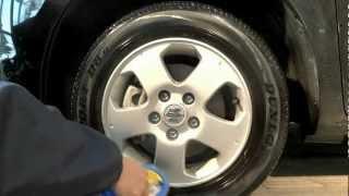 水溶性タイヤワックス使用動画