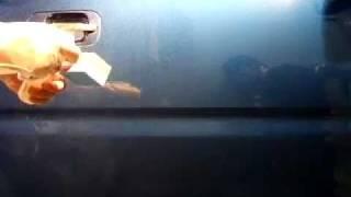 ウォータースポット除去剤(ボディ用)使用動画